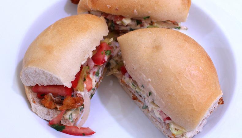 Sandwich «El Apernado» De Merluza
